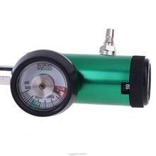 DISS/Barb 3000psi CGA540 Oxygen Pressure Regulator Oxygen Inhaler Flowmeter Oxygen Cylinder Flow Meter S17 20 Dropship