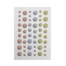 Enamel Dot Self Adhesive Embellishment for Cardmaking and Craft Scrapbook DIY E15B