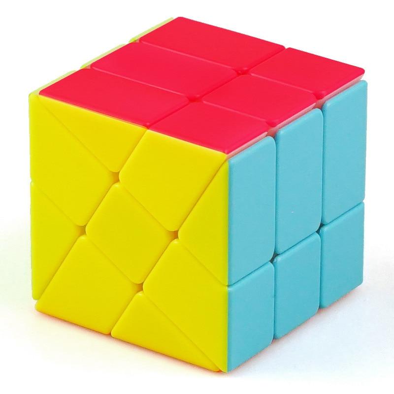 ShengShou 3x3x3 Cube Wind Wheel Unequal 55mm Magic Cube Puzzle Cubes Strengthened Cubo Kubik Cubo Magico Kub Toys Gift