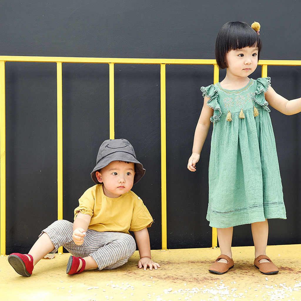 ילדים בני בנות קיץ מזדמן סנדלי ילדים של בני בנות תינוק נעלי קוריאני גרסה חיצוני ילדי רחוב מזדמן אחת נעליים