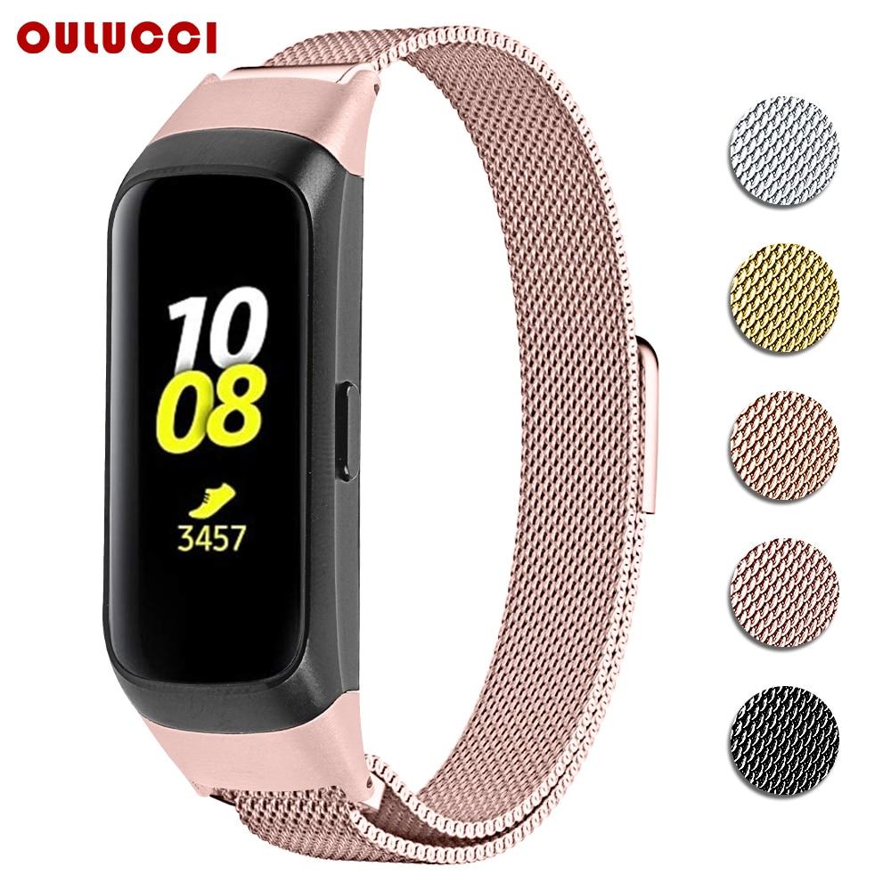 OULUCCI Loop-Band Sm R370 Bracelet-Strap Metal Galaxy Samsung Mesh