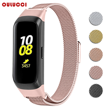 OULUCCI mesh loop band  for Samsung galaxy SM R370 watch band Metal Bracelet strap for samsung galaxy watch strap