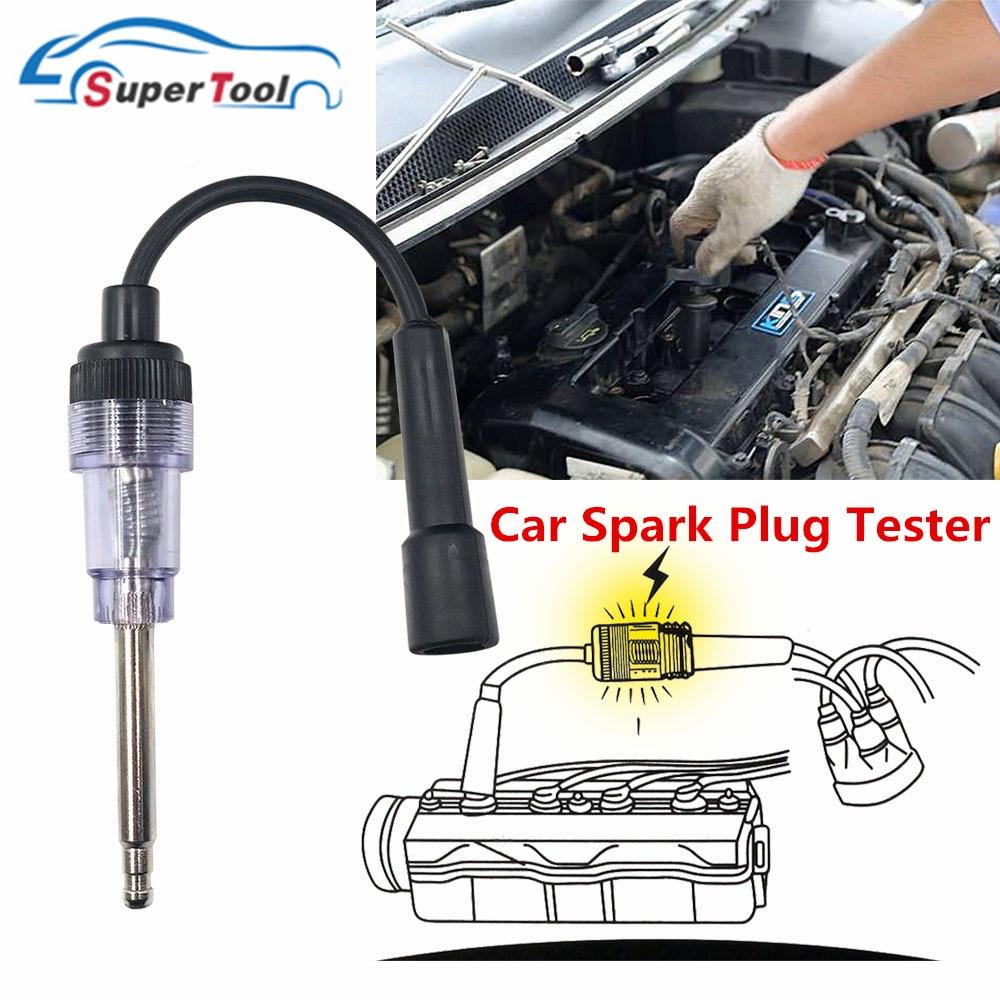 IN-LINE SPARK PLUG PICK UP COIL TESTER 6-12V ENGINE IGNITION DIAGNOSTIC 5PCS SET