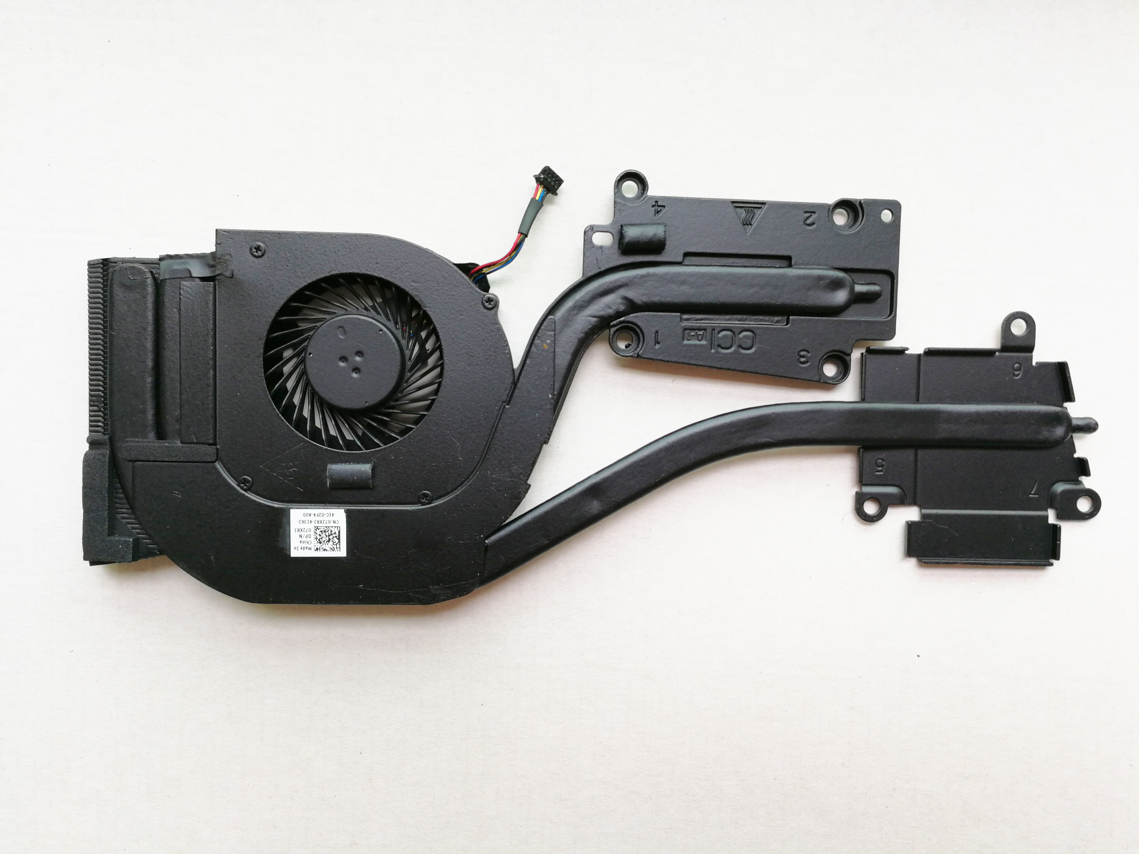 Оригинальный вентилятор для Dell Latitude E6540 радиатор 072XRJ cn-072XRJ 72XRJ