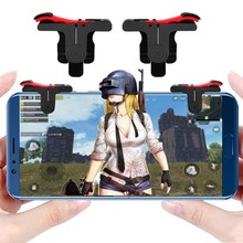Mobile Game Controller Gamepad L1R1 Mobile Phone Joystick Sensitive Shoot and Aim Triggers for PUBG/Knives Out/Rules of Survival(China)