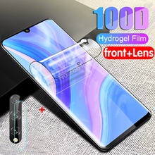 Hydrogel-Film Screen-Protector P-Glass Huawei Y8P Y8p-Camera for 8-P-Y8
