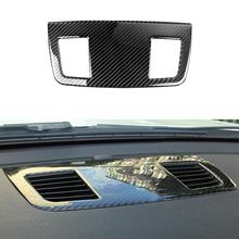 цена на For BMW E90/E92/E93 3 Series Accessories Car Interior Carbon Fiber Dashboard Air Conditioning Outlet Vent Cover Trim Decoration