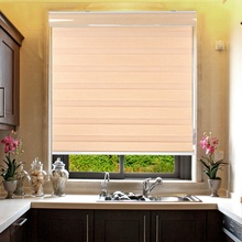 Хорошая цена популярные домашние декоративные тканевые окна Зебра жалюзи для постельных принадлежностей комнаты