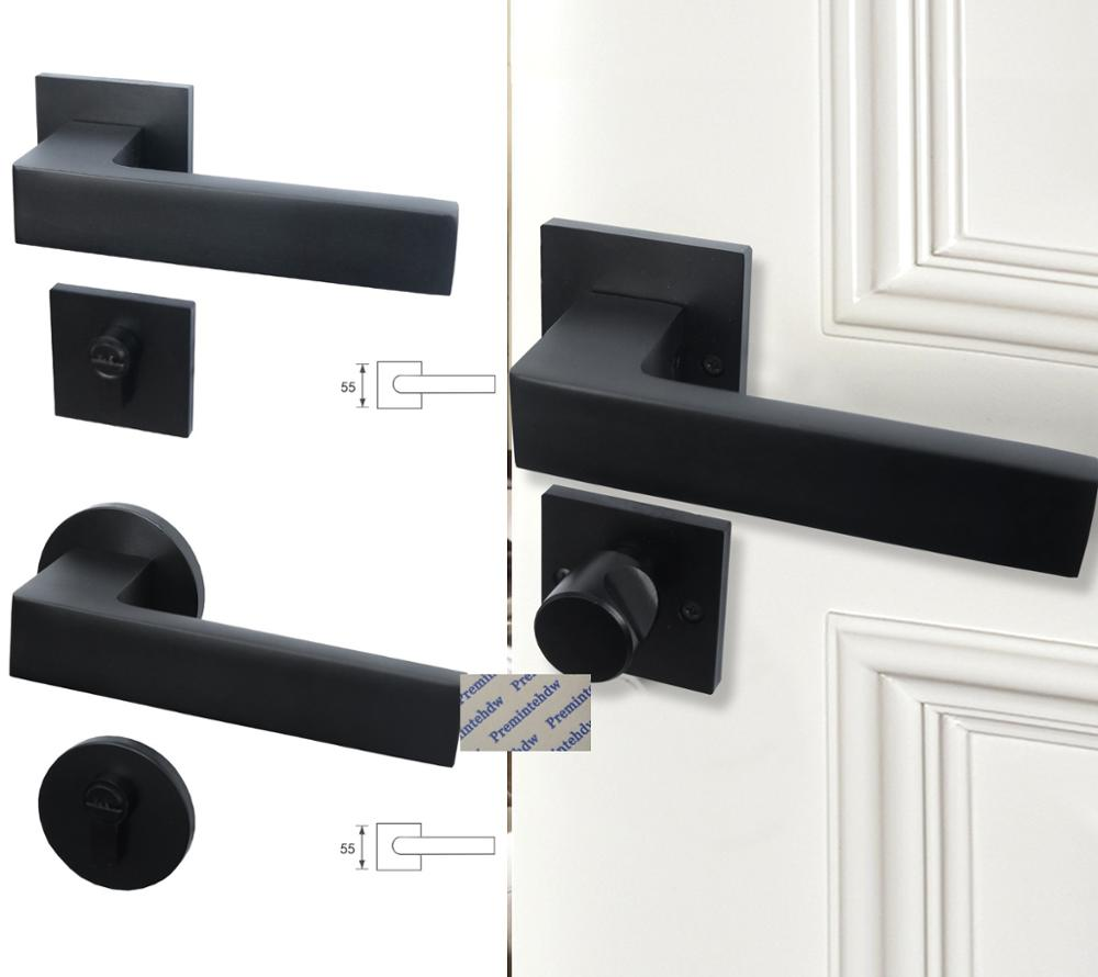 Silent Magnetic Latch Chrome Interior Door Mortice Passage//Privacy Lock Body