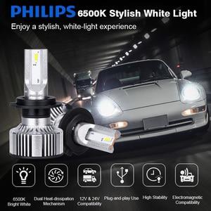 Image 2 - H7 LED Philips H4 H1 H8 H11 H16 HB3 HB4 HIR2 9005 9006 9012 Philips Ultinon Essential G2 LED 6500K Car Headlight Auto Fog Lamp