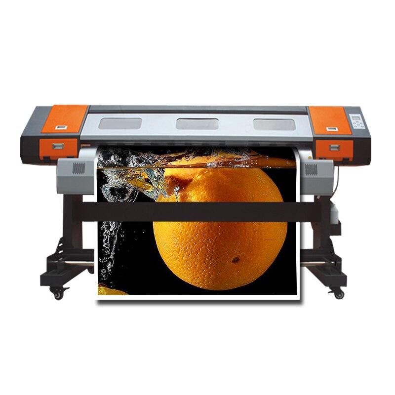 1.6m Solvent Based Inkjet Printer With High Speed Solvent Printer With One Dx7 Head Eco Solvent Printer
