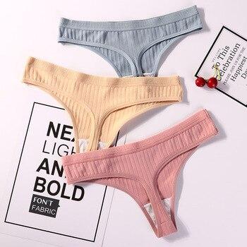 Sexy Lingerie Women's Cotton G-String Thong Panties