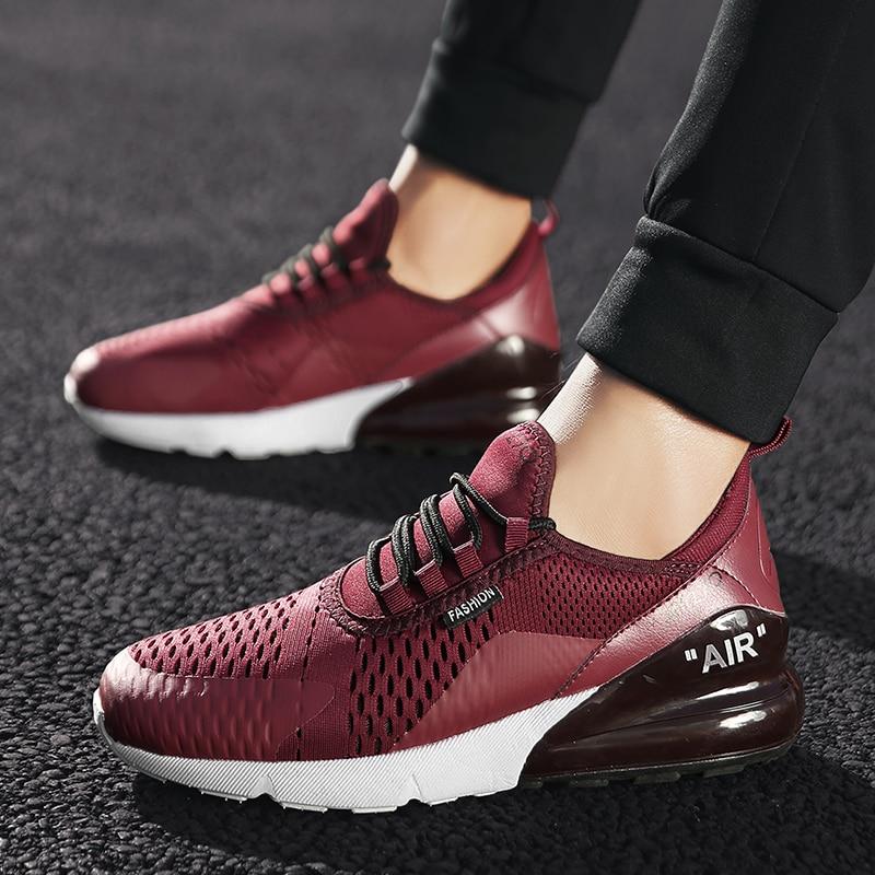 Zapatillas deportivas para correr para hombre, zapatillas deportivas para caminar al aire libre, zapatillas para correr para mujer, zapatos para hombre, talla grande 46