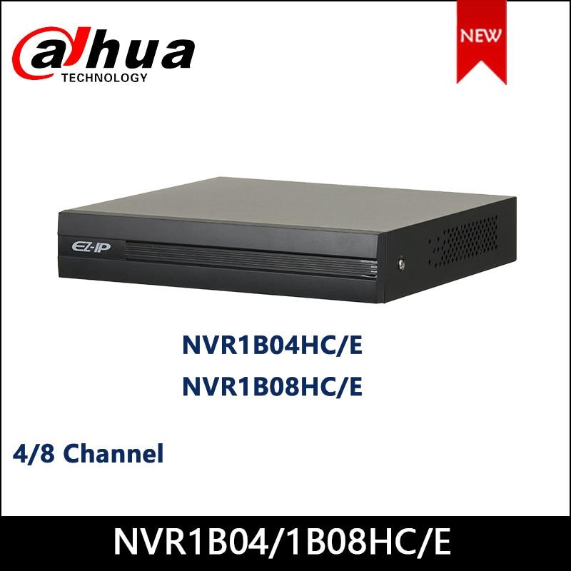 Dahua EZ-IP NVR NVR1B04HC/E NVR1B08HC/E 4/8 Channel Cooper 1U H.265 Network Video Recorder