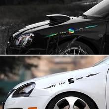 Calcomanías de vinilo reflectante a láser para coche Seat Leon 5f Ibiza 6l 6j Leon 1p Cushion Altea Xl Leon Mk3 Ibiza f, 1 unidad