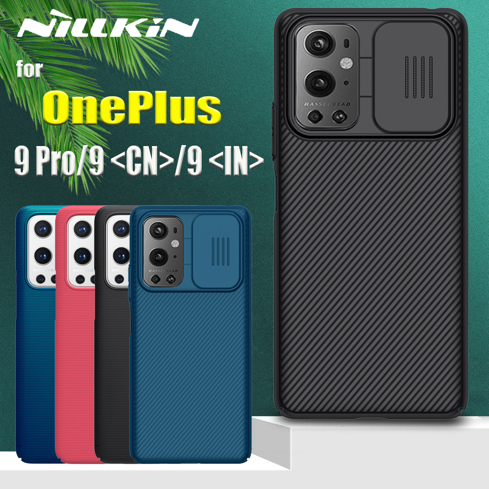 OnePlus 9 Pro чехол NILLKIN слайд-камера защита объектива Защита конфиденциальности Матовый экран телефона задняя крышка на OnePlus 9 CN/IN Capa
