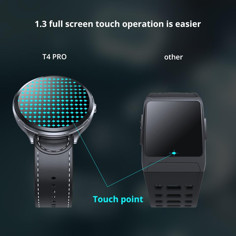 Montre intelligente T4 PRO tactile