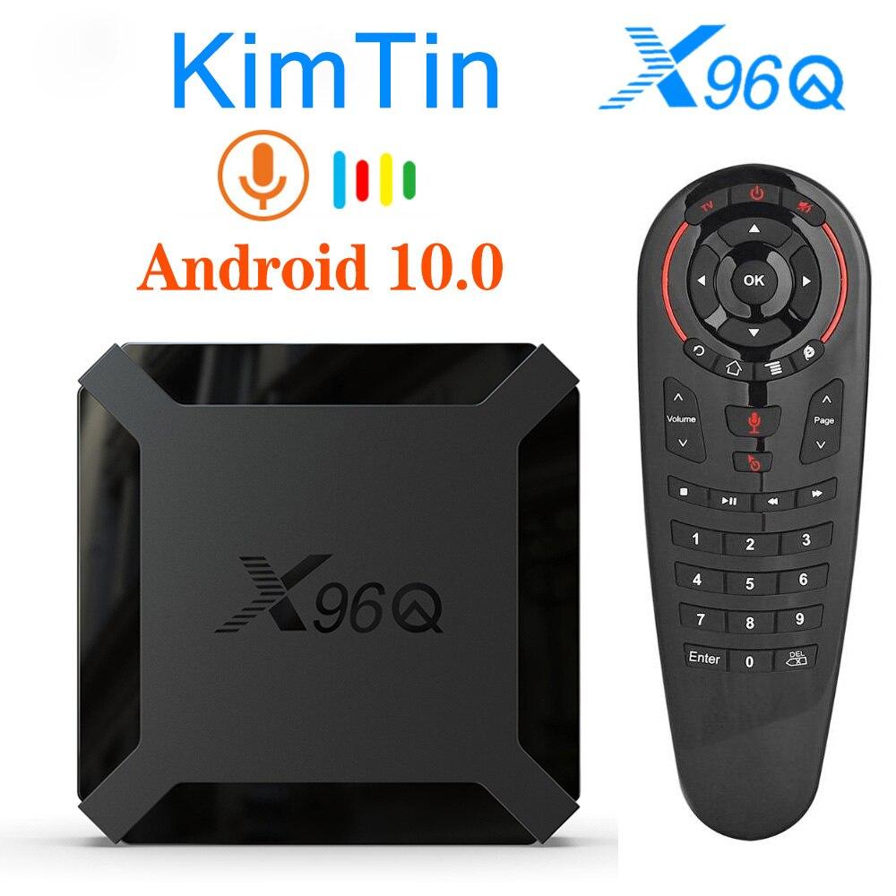 New X96 X96Q Smart TV Box Android 10.0 Quad Core 2GB 16GB Support 4K Netflix  Youtube Set Top Box 1G 8G X96 Q Media Player|Set-top Boxes