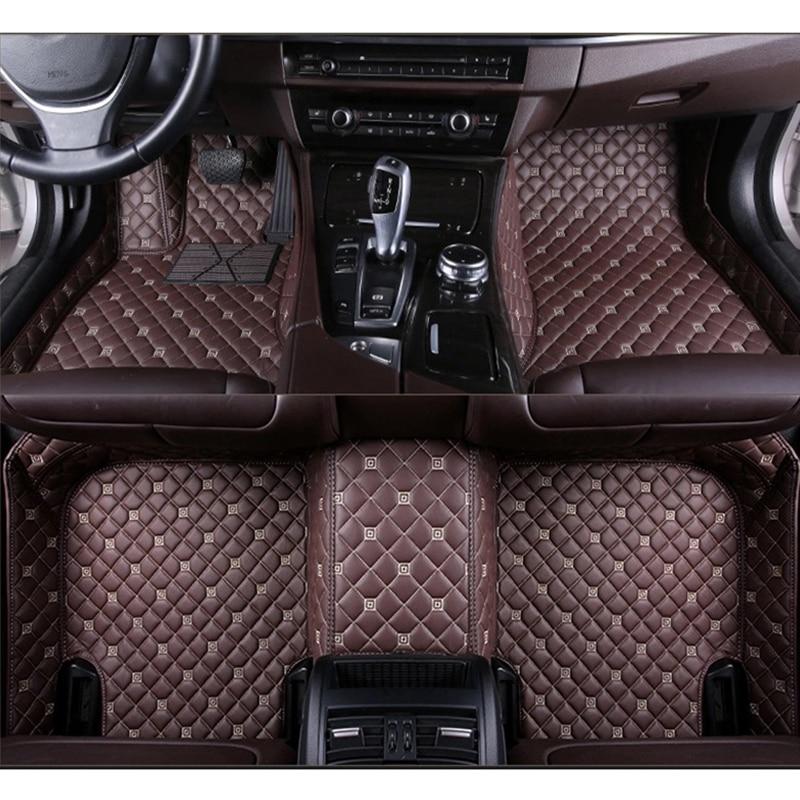 Hyundai Accent Sonata Elantra Santa FE Universal Black Cloth Carpet Car Mats Set