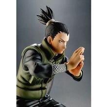 Naruto nara shikamaru artigos de decoração modelo 14cm pvc brinquedo