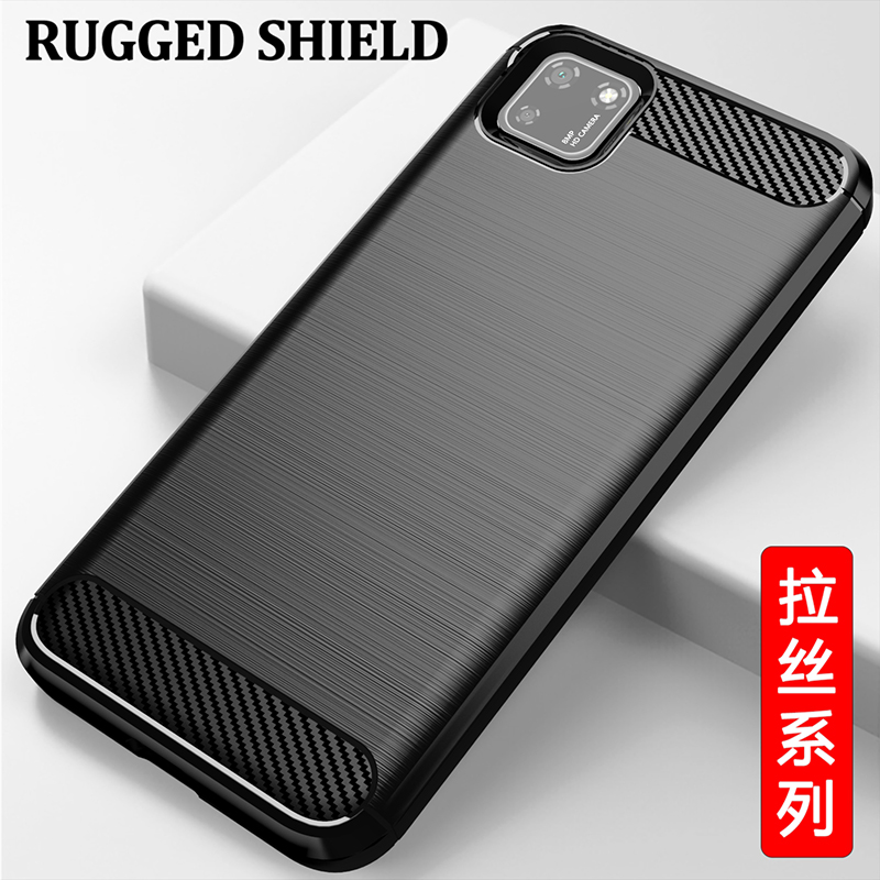For Honor 9S Case Carbon Fiber Cover Full Protection Phone Case For Huawei Y5p Case Cover Shockproof Bumper for Huawei Y6p