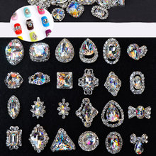 10 шт украшения для ногтей 31 стили шармы из металлических сплавов