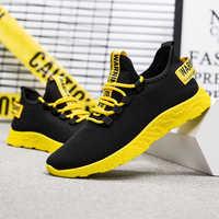 Adisputent Men Sneakers 2019 Casual Non-slip Men Vulcanize Shoes Male Air Mesh Lace up Wear-resistant Shoes tenis masculino