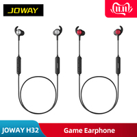 JOWAY H32 3D 360 Surround Wireless Bluetooth Eat chicken artifac Game Earphone Stereo Bass PUBG Magnetic Sport Headset With Mic