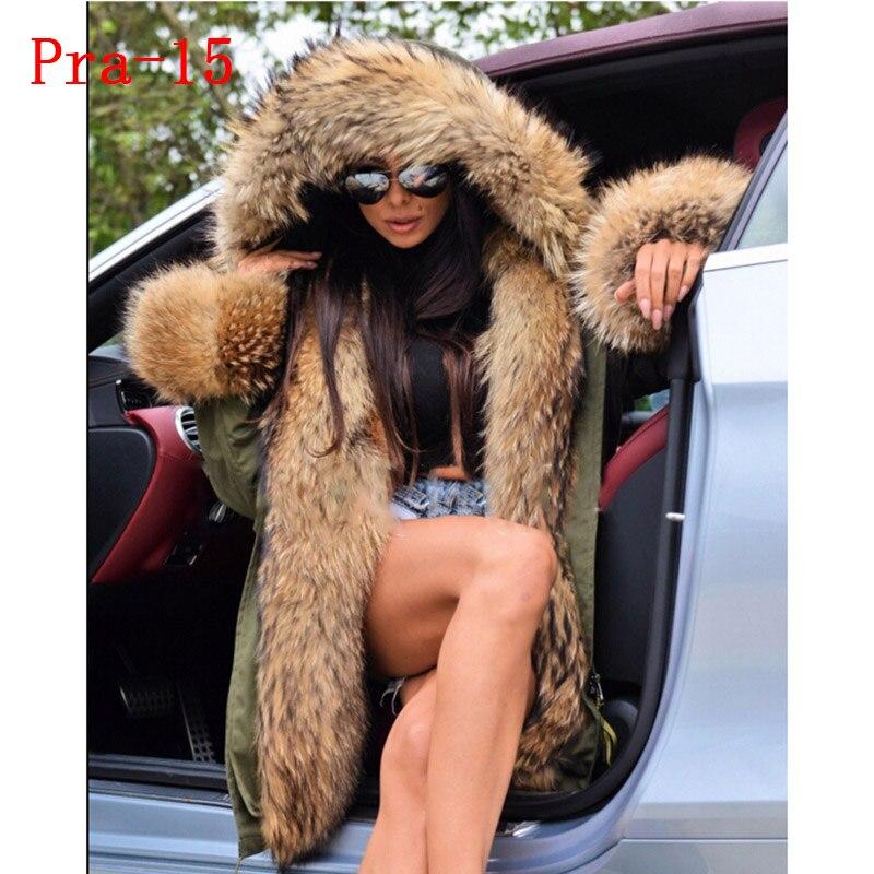 femmes hiver veste naturel 16