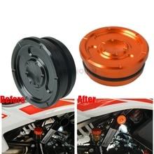 Motorcycle Accessories Aluminum Frame Hole Cover Caps Plug Kit Decor motobike Swing Arm Hole Plugs For KTM 790 adventure R 2019