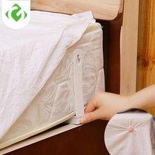 4 قطعة/المجموعة غطاء سرير كليب غطاء سرير إبزيم حزام فراش عدم الانزلاق لحاف يغطي ورقة أصحاب القابض السحابة كليب ل أريكة تتحول لسرير