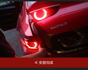 Image 3 - Sedan car use 2020~2021y tail light for Mazda 3 Mazda3 Axela taillight LED car accessories Taillamp for mazda3 rear light fog