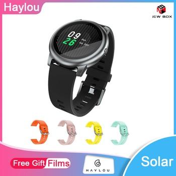 Haylou solaire LS05 montre intelligente Sport boîtier en métal fréquence cardiaque moniteur de sommeil IP68 étanche 30 jours batterie iOS iPhone Android xiaomi