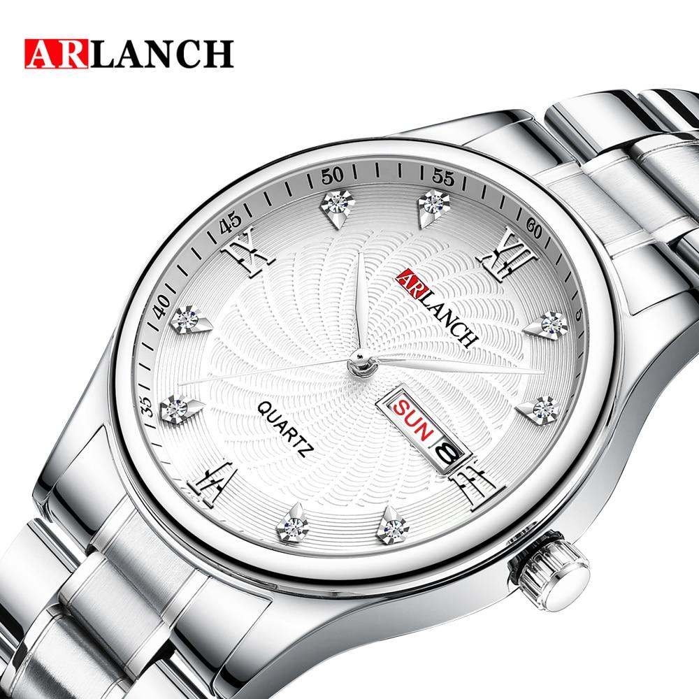 Купить arlanch брендовые роскошные часы унисекс для влюбленных пар