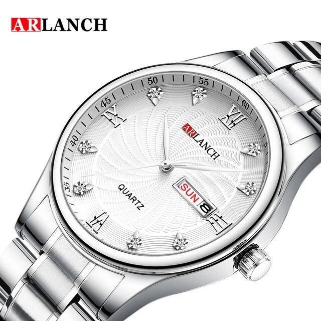 arlanch брендовые роскошные часы унисекс для влюбленных пар фотография