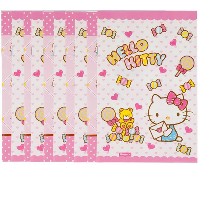Cute cartoon 25k Hello Kitty Diary book Creative soft copy student notebook memo Child gift pocketbook stationery Supplies