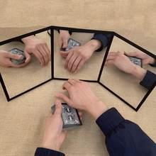 3-way espelho praticando espelho para cartão magia truques de ilusão truques de magia acessórios palco profissional brinquedos do bebê mágico