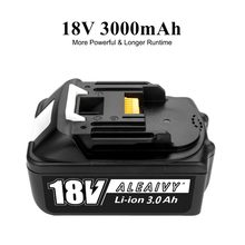 Original For Makita 18V 3000mAh 3.0Ah Rechargeable Power Tools Battery with LED Li-ion Replacement LXT BL1860B BL1860 BL1850