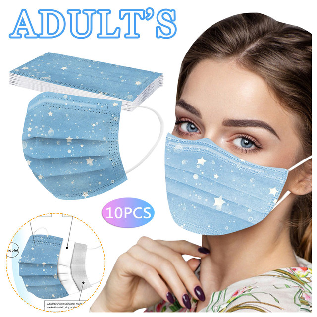 10pcs masque jetable fast delivery