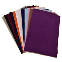 Tecido de veludo autoadesivo a4, diy, patchwork, acolchoamento, sapatos, luvas, decoração de roupa, acessório