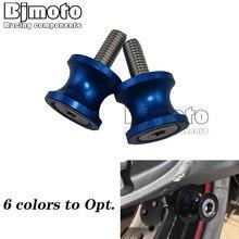 Bras oscillant bobines curseur M6 M8 M10 pour SUZUKI GSR 750 600 400 GSX650F GSX1250FA GSF 1250/1200 N/S Bandit SV650 CNC vis de support