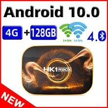 2020 טלוויזיה חכמה תיבת HK1 R1 מקסימום 4GB 128GB טלוויזיה תיבת אנדרואיד 10 אנדרואיד 10.0 Rockchip RK3318 4K 60fps USB3.0 Google Playstore Youtube