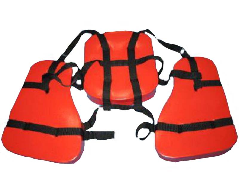 Manufacturers Production Supply PVC Inflatable CHILDREN'S Life Jackets Swimsuit See Customizable Swimming Tube Long White Silk S