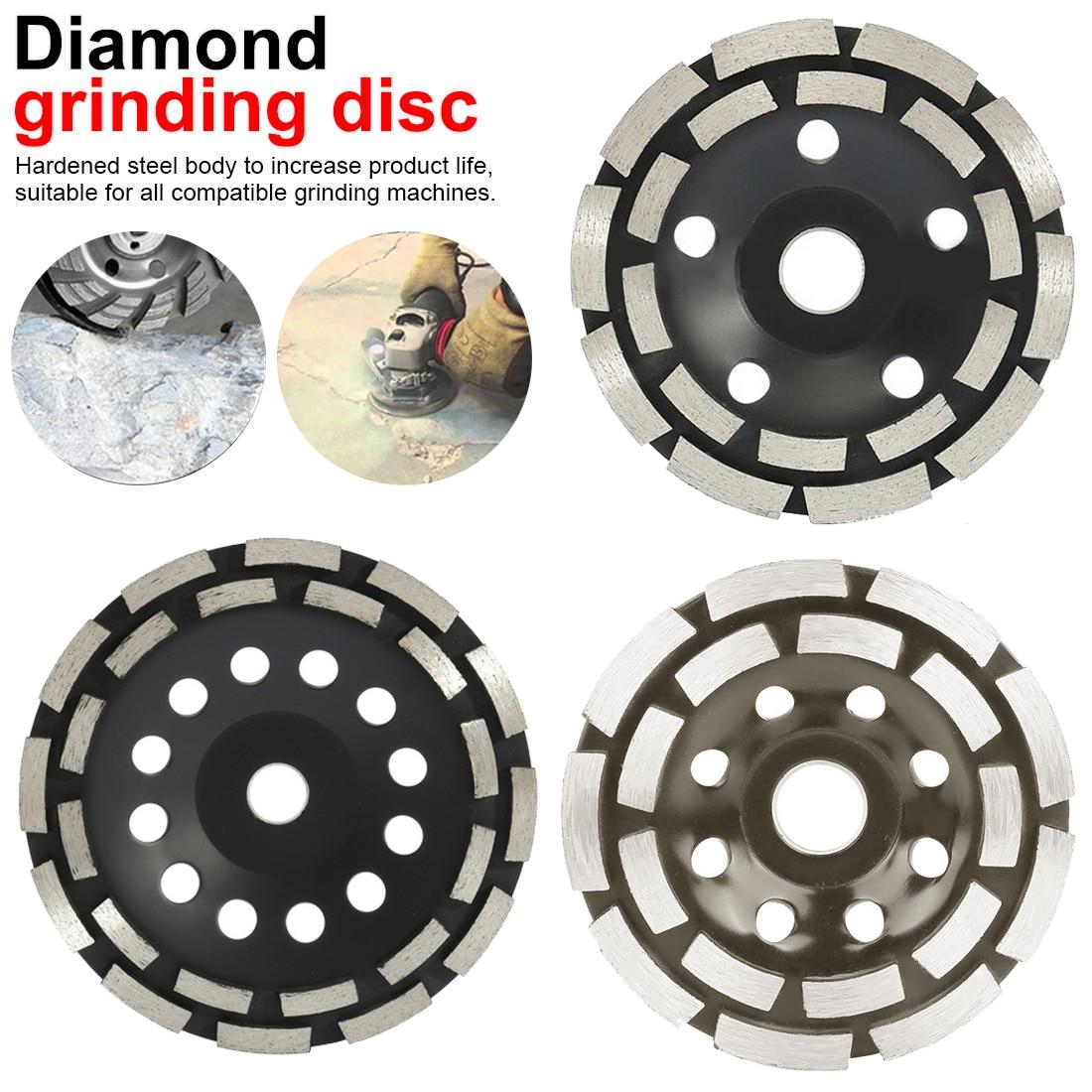 Saw Blade 115/125/180mm Diamond Grinding Disc Abrasives Concrete Tools Grinder Wheel Metalworking Cutting Grinding Wheels Cup|Grinding Wheels| |  - title=