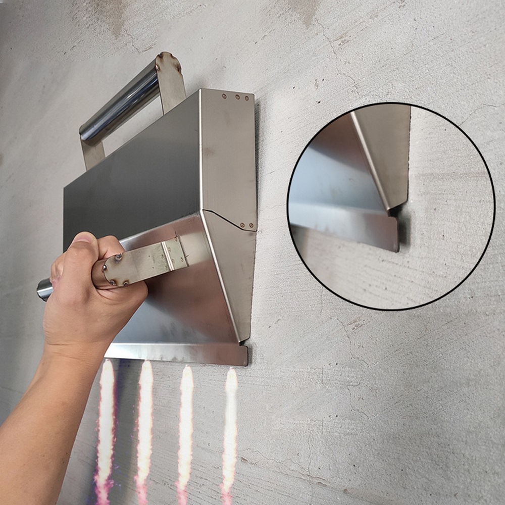 Concrete Trowel Wall Plastering Tools For Bricklayer Decorative Trowel Plaster Scraper Construction Tools Stainless Steel
