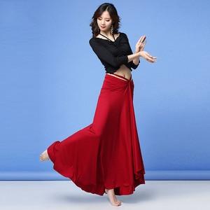Image 5 - 2019 nova qualidade conjunto traje de dança do ventre bellydance pratice roupas dança oriental conjunto gaze 3 tipos de usar métodos