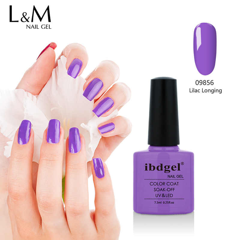 1 PC Ibdgel 7.3 Ml Kecantikan 79 Warna Kuku Gel Polandia untuk Nail Art Gel Lacquer Gel Varnish
