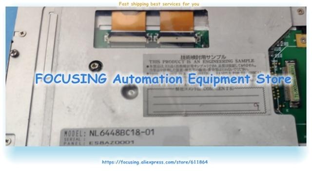 Écran LCD de NL6448BC18-01 testé bon pour lexpédition