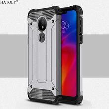 For Cover Motorola Moto G7 Power Case Anti-knock Rugged Armor Cover For Moto G7 Play Silicone Phone Case For Moto G7 Power Funda аксессуар чехол zibelino для motorola moto g7 power ultra thin case transparent zutc motr mot g7 pwr wht