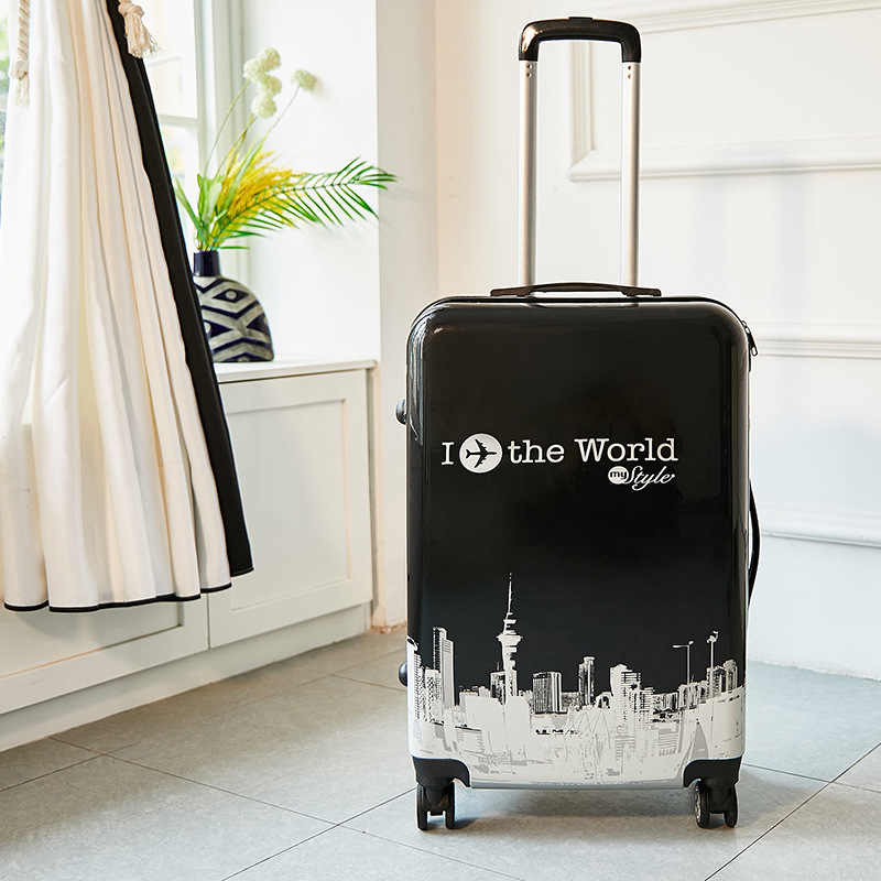 24 Inch Abs + Pc Koffer Reizen Trolley Bagage 20 ''Carry Op Rolling Bagage Cabine Trolly Tas Voor Reizen kids Bagage Tas